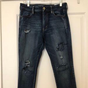 American eagle high waisted skinny jeans